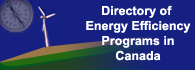 Directory of Energy Efficiency Programs in Canada