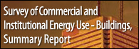 Survey of Commercial and Institutional Energy Use - Buildings 2009 Summary Report