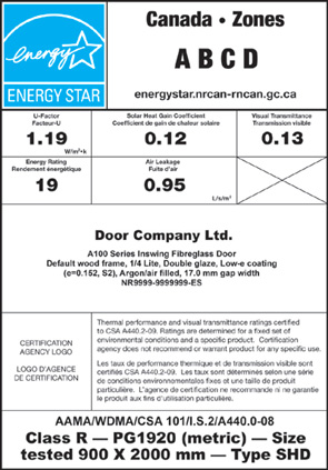 Door Label Example 4